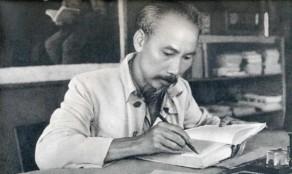 Hoc tap va lam theo tam guong dao duc Ho Chi Minh ve tac phong quan chung, dan chu, neu guong