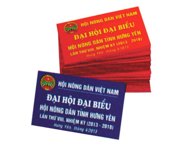 Thẻ đại biểu